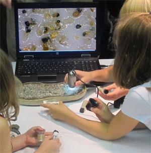 Iskolai mikroszkóp